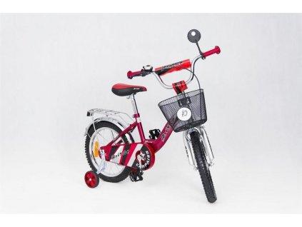 Detský bicykel 16 TBK Speedy Nolly červený (4)