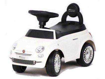 Baby Mix odrážadlo Fiat 500 biele