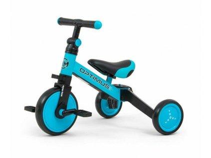 Detská trojkolka 3v1 Milly Mally Optimus blue (5)