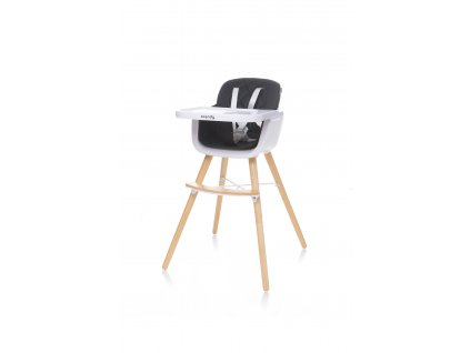 4Baby Jedálenská stolička SCANDY XX black