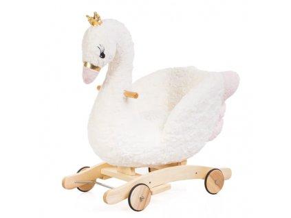 Nelly hojdacie kresielko labutí princezná
