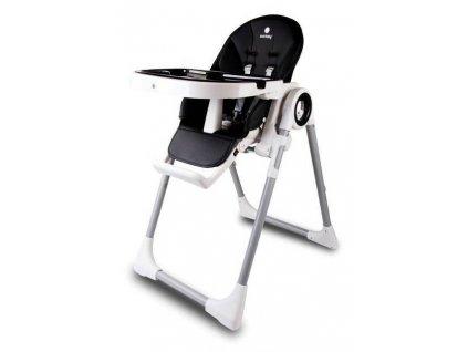 Sun Baby jedálenská stolička FIDI 3v1 čierna