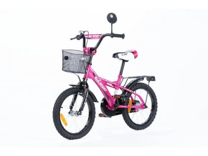 "Detský bicykel 16"" TBK Sport ružovo čierne"
