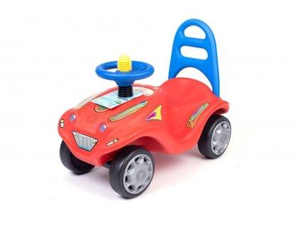 Odrážacie autíčko MINI MOBILE červené