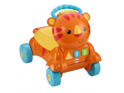 Fisher Price Stride to Ride Musical Tiger 9M+ (1)