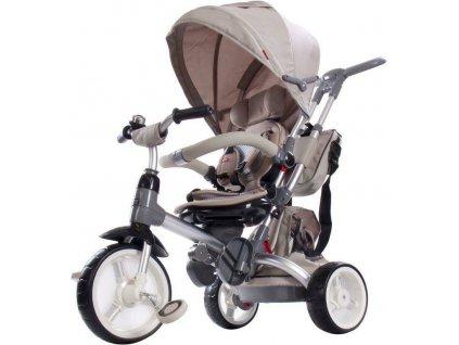 Sun Baby trojkolka Tiger penová kolesá béžová (4)