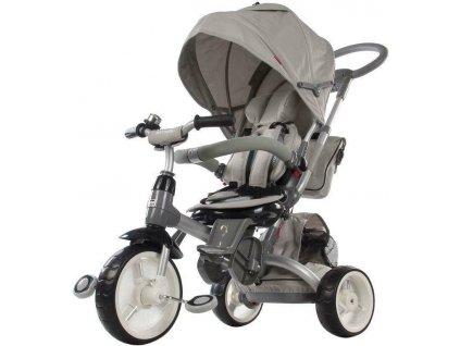 Sun Baby trojkolka Tiger penová kolesá sivá (2)