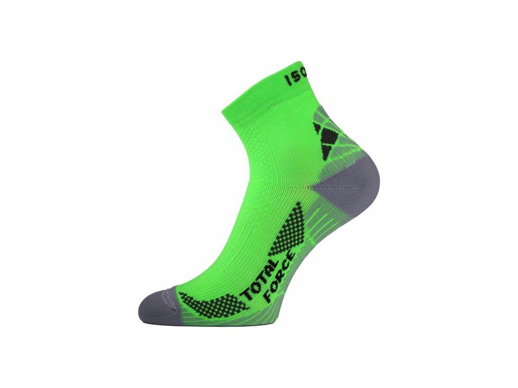 lasting funkcni bezecke ponozky rtf zelene