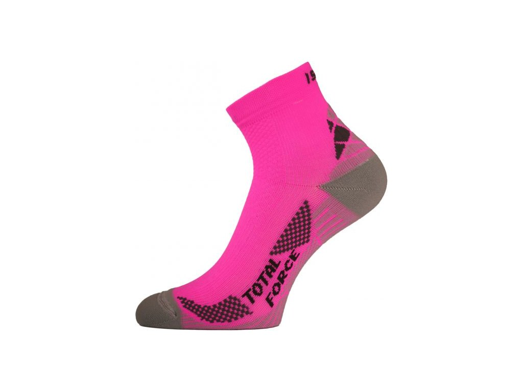 lasting funkcni bezecke ponozky rtf ruzove