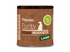 fitmin dog purity snax nuggets lamb 180 g h L