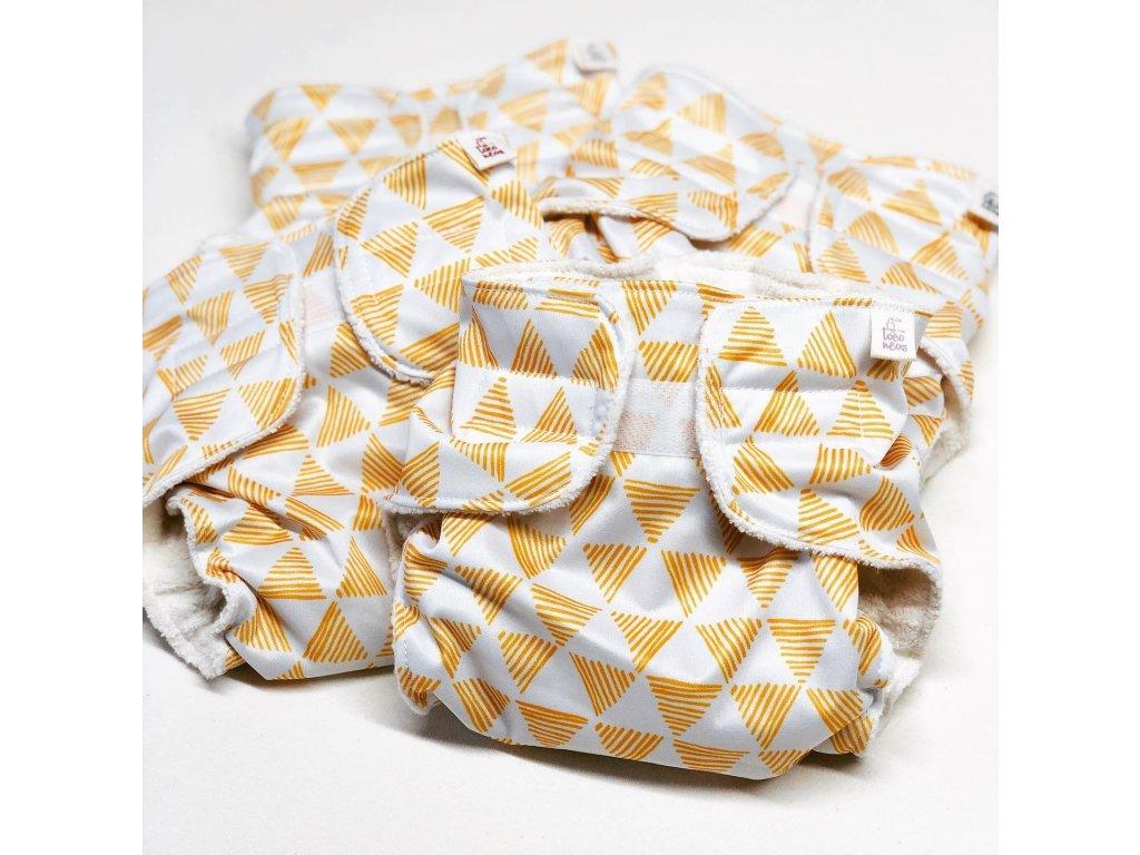 Plenkové kalhotky AIO s biobavlnou Triangl
