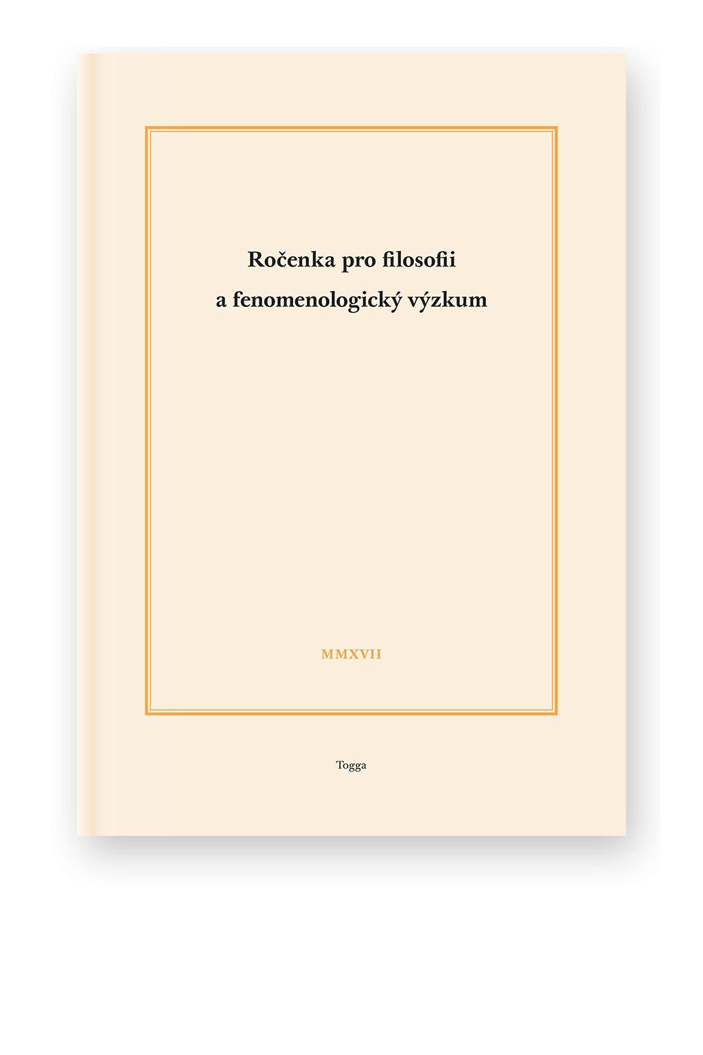 1203 rocenka pro filosofii a fenomenologicky vyzkum 2017