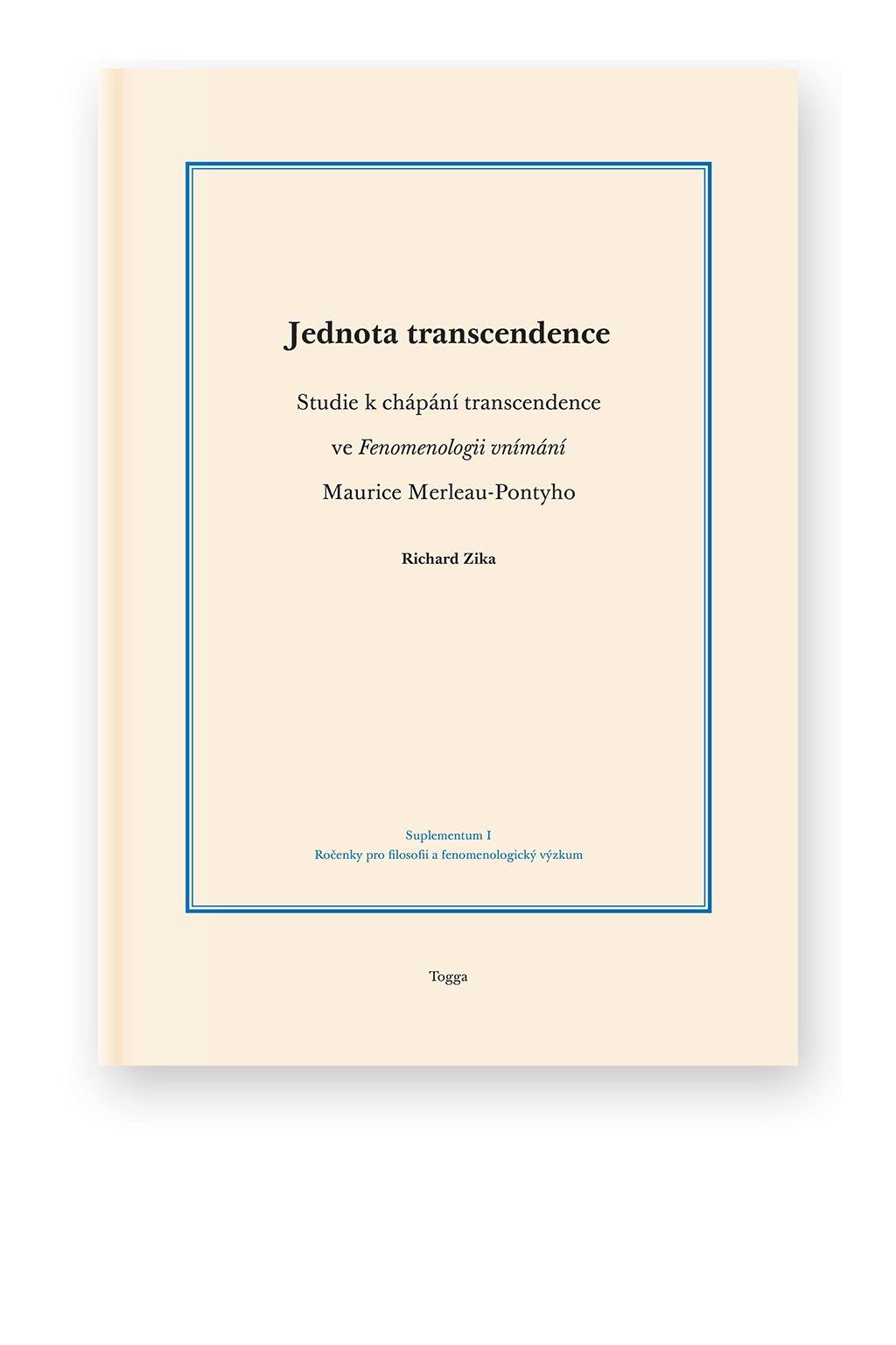 897 jednota transcendence