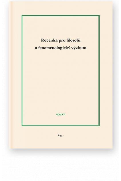 1113 rocenka pro filosofii a fenomenologicky vyzkum 2015