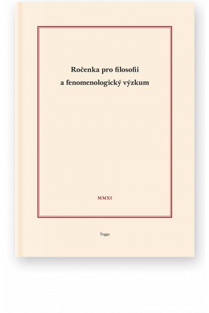 924 rocenka pro filosofii a fenomenologicky vyzkum 2011