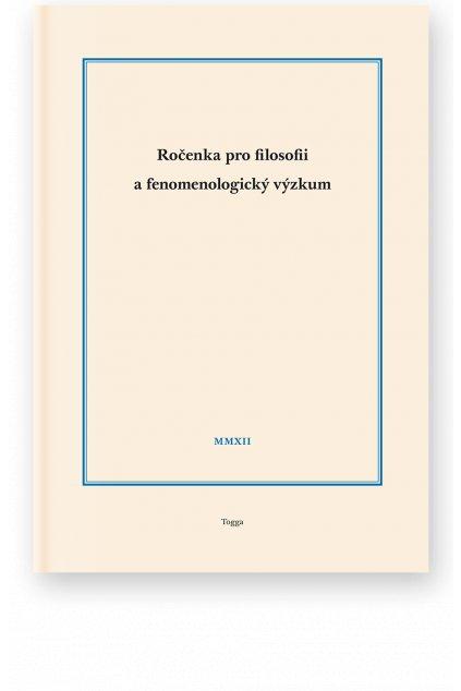933 rocenka pro filosofii a fenomenologicky vyzkum 2012