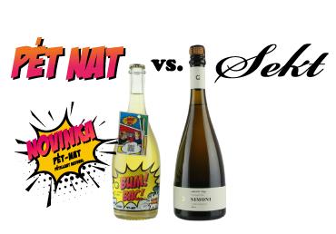 Pét Nat vs. Champange