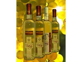 Degustační balíček - polosladká vína
