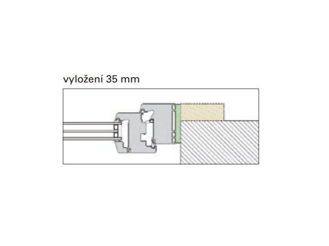 PR011: vyložení 35 mm
