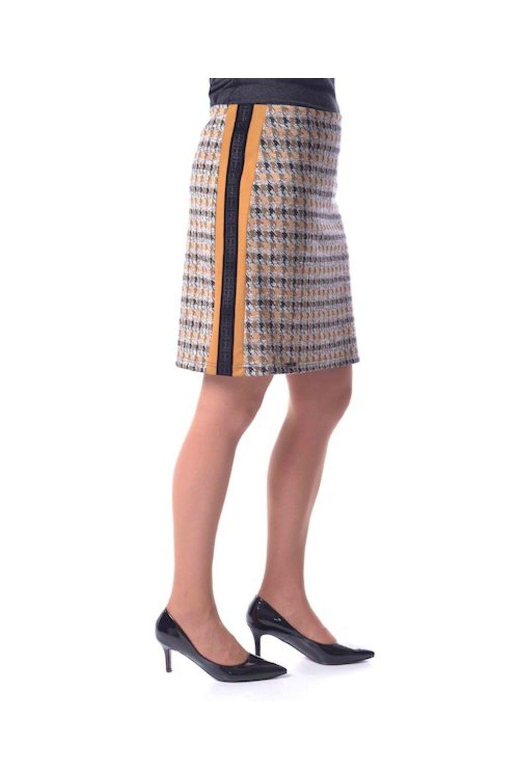 8120 Sukně Style vzory (Velikost 36, Barva Vzorovaná)