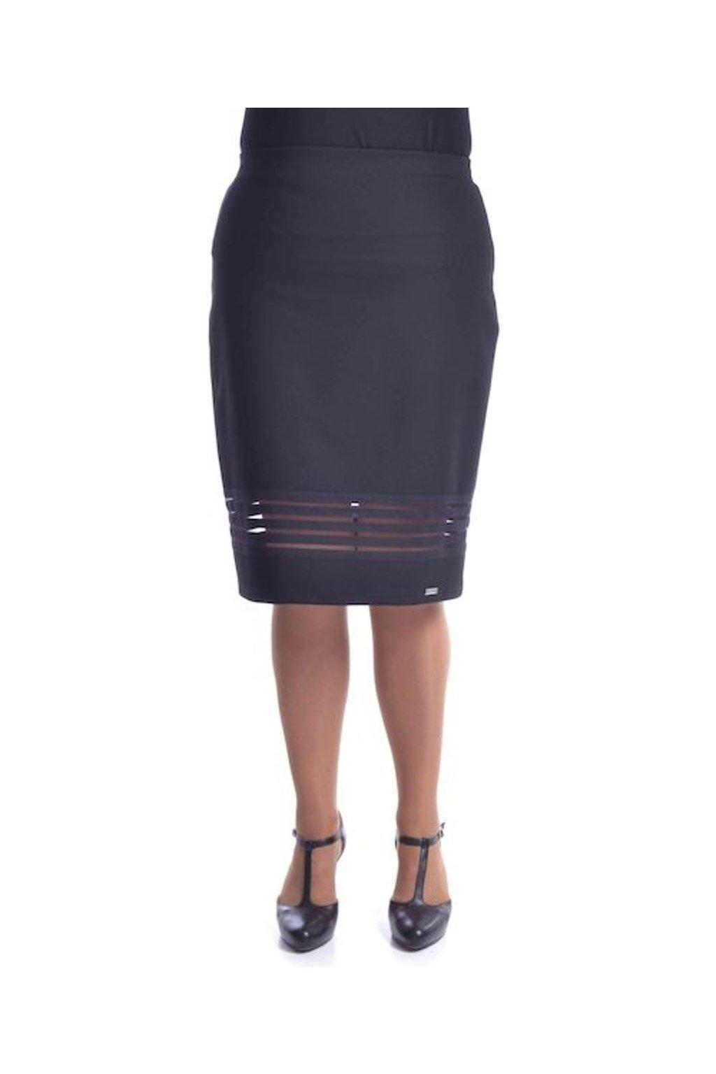 7720 Sukně Gabi (Velikost 36, Barva Černá)