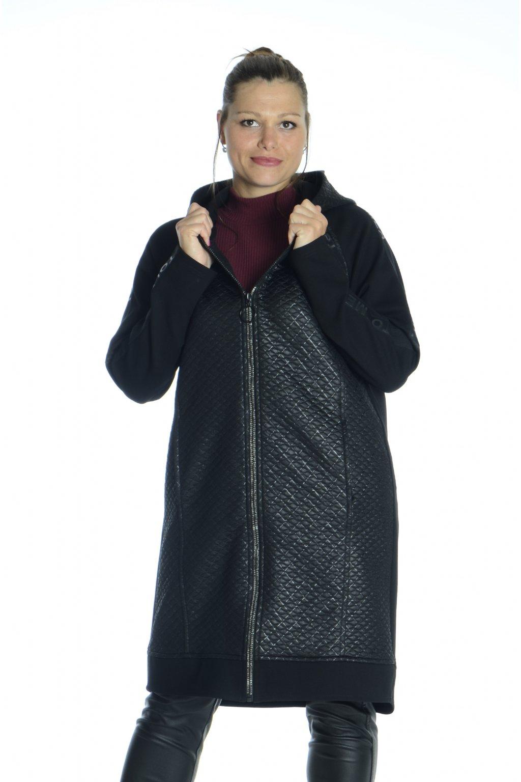 6321 Kabátek Charm černá o246