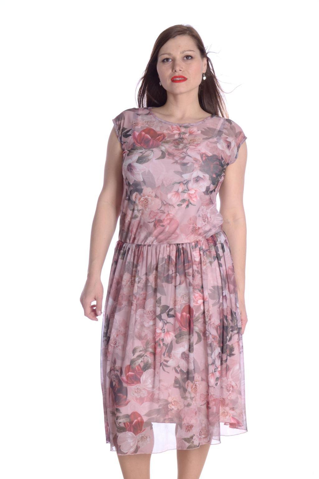 4221 Šaty Anet růžová 53 (2)