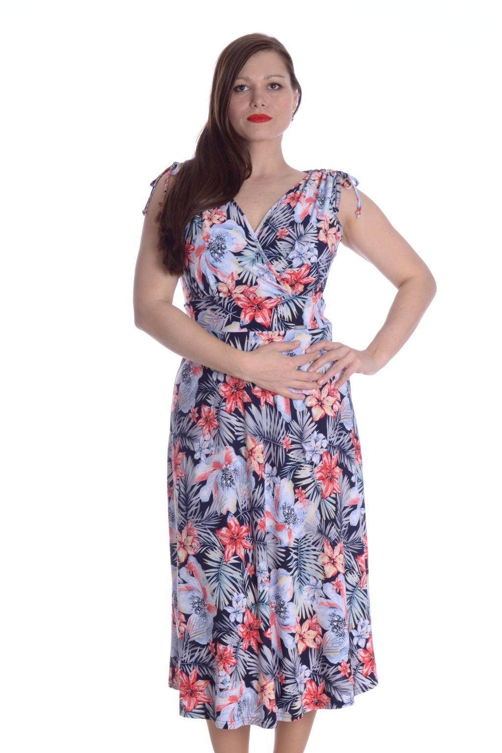 4621 Šaty Venus květy 1 (2)