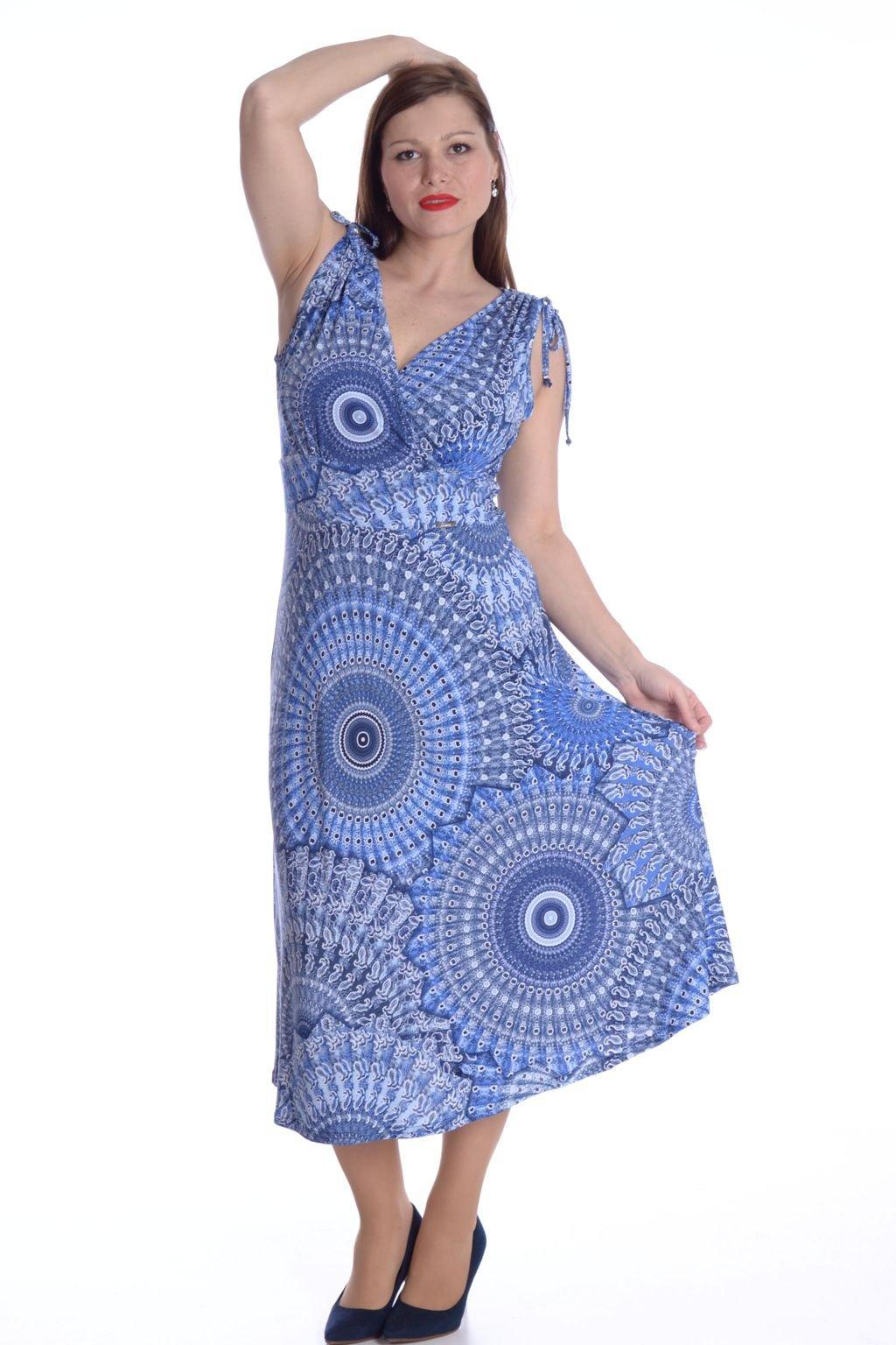 4621 Šaty Venus mandaly modré 33 (2)