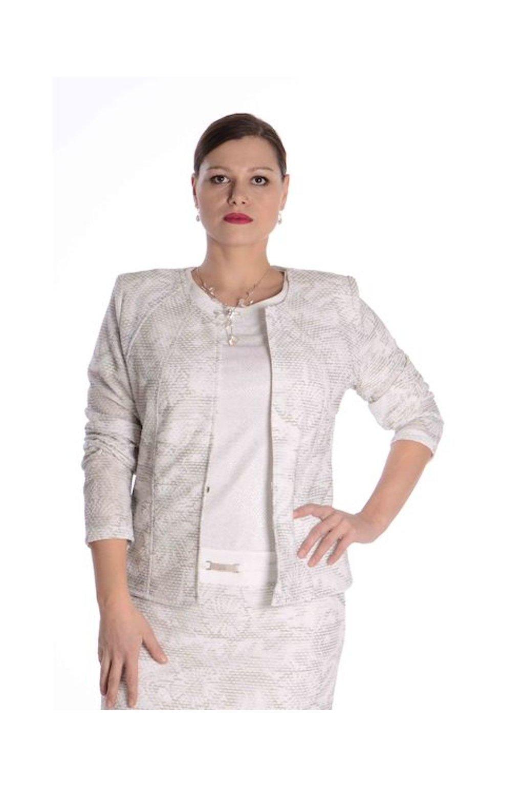 65T Kabátek Charisma (Velikost 36, Barva Vzorovaná)