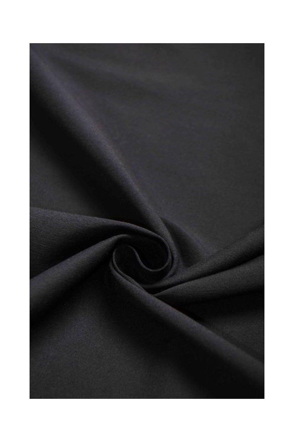 7053 elasticka kalhotovka cerna