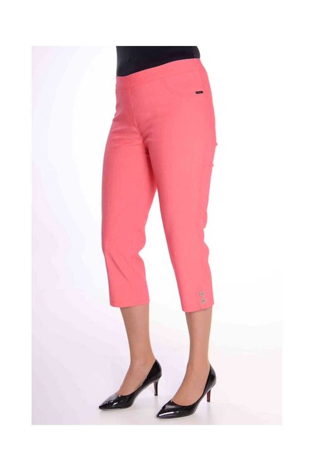 69T Kalhoty Julie (Velikost 36, Barva Růžová)