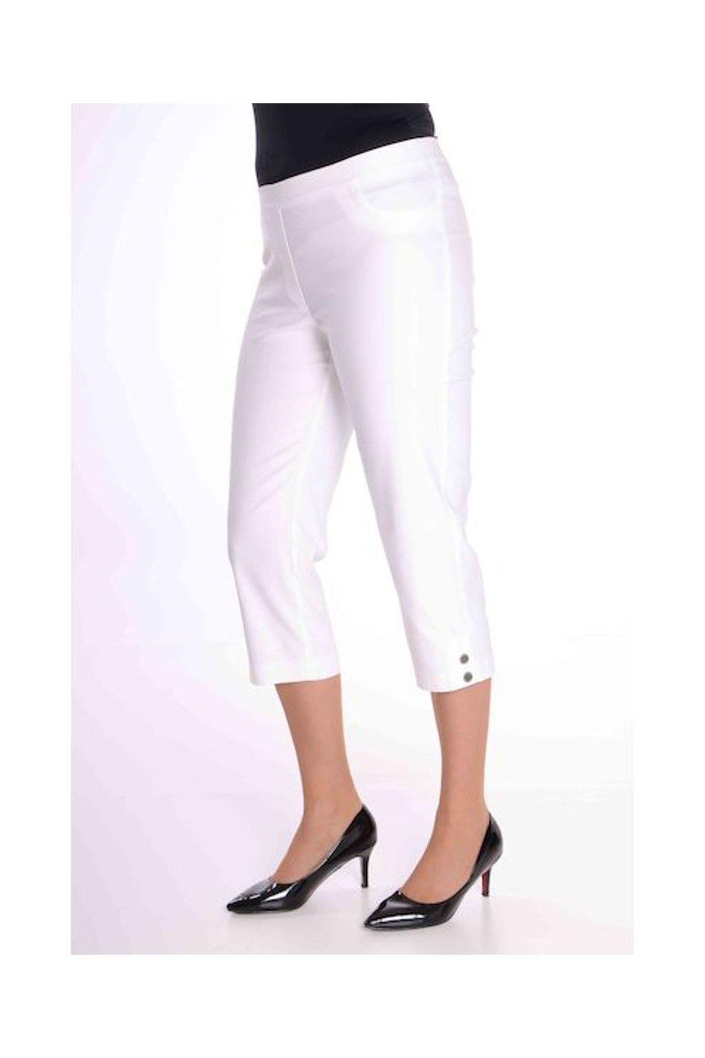 69T Kalhoty Julie (Velikost 36, Barva Smetanová)