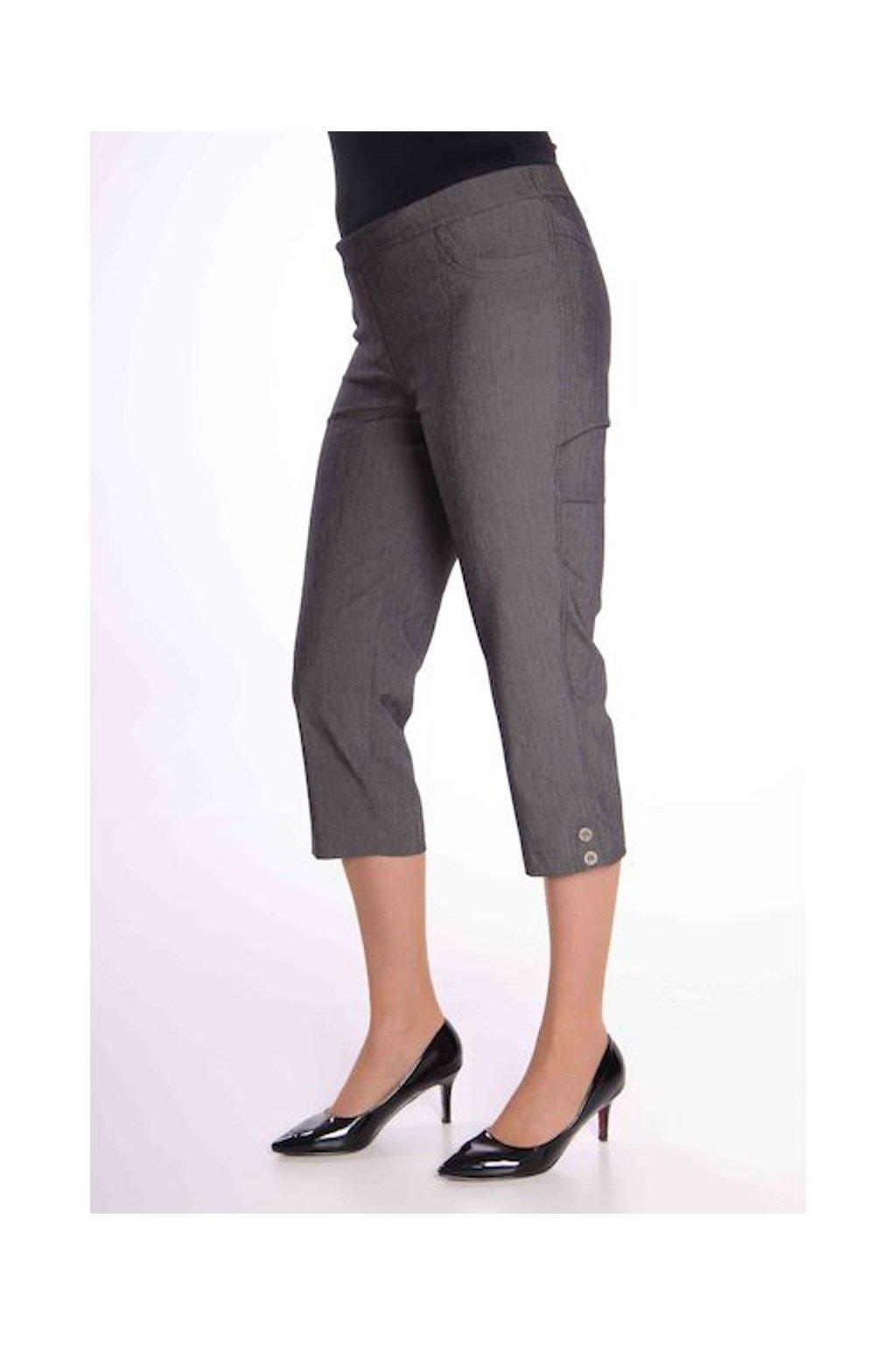 69T Kalhoty Julie (Velikost 36, Barva Černá)