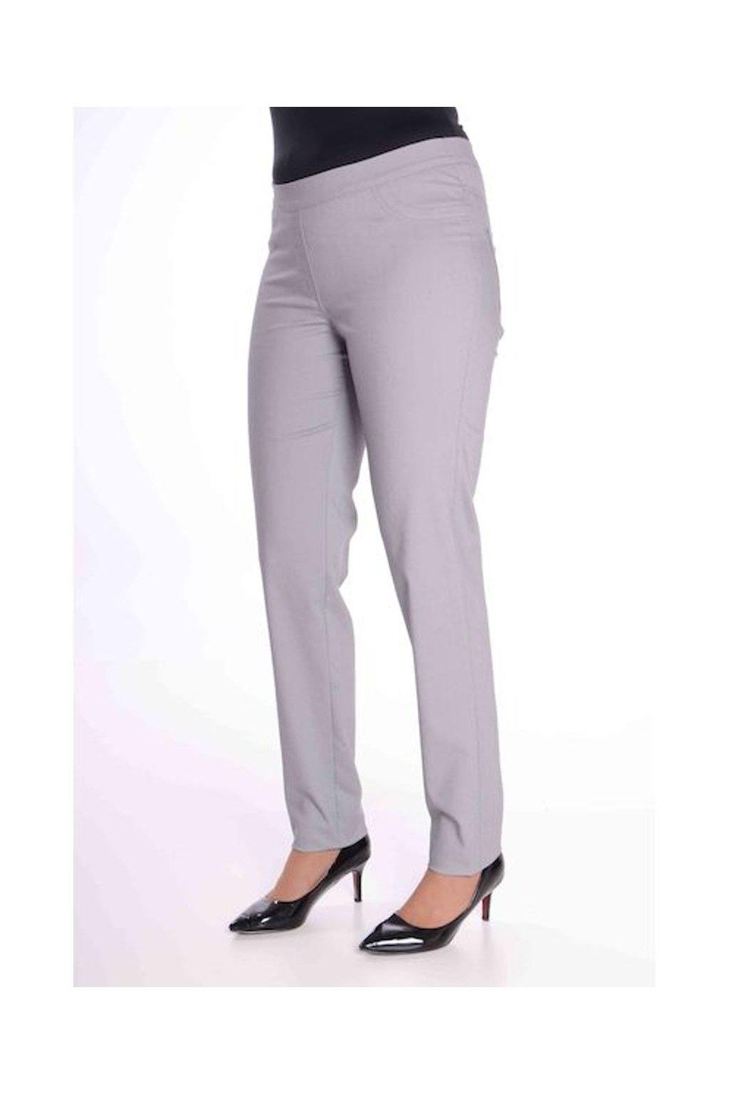 68T Kalhoty Jenny (Velikost 36, Barva Šedá)