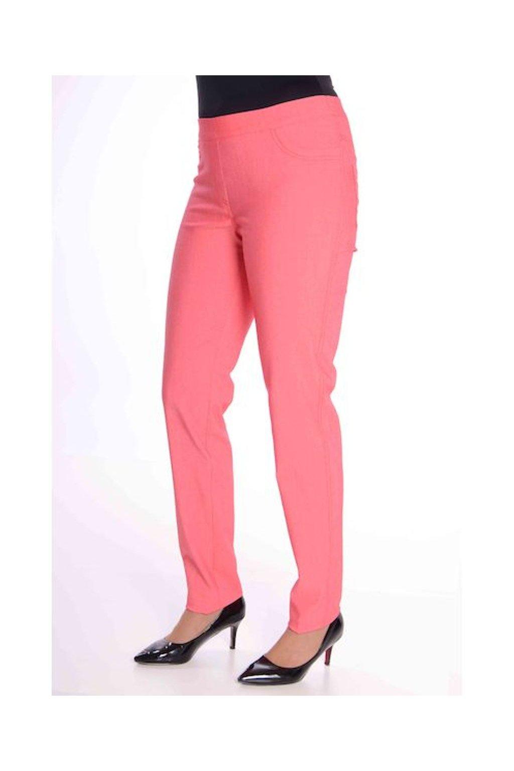 68T Kalhoty Jenny (Velikost 36, Barva Růžová)