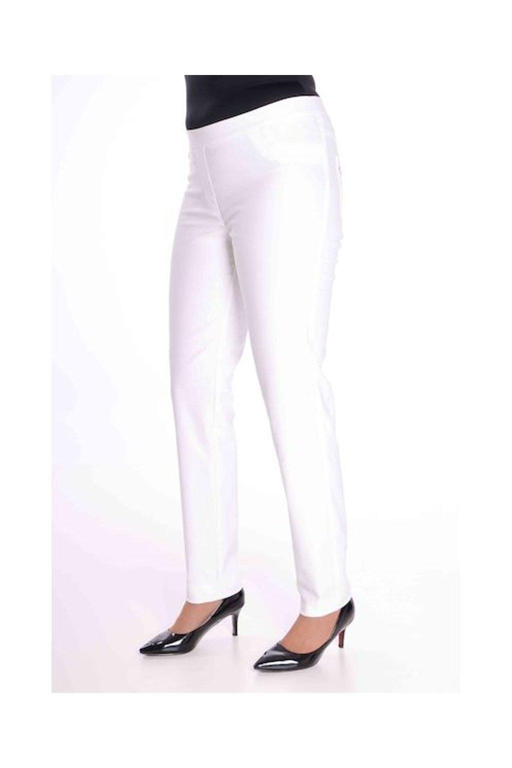 68T Kalhoty Jenny (Velikost 36, Barva Smetanová)