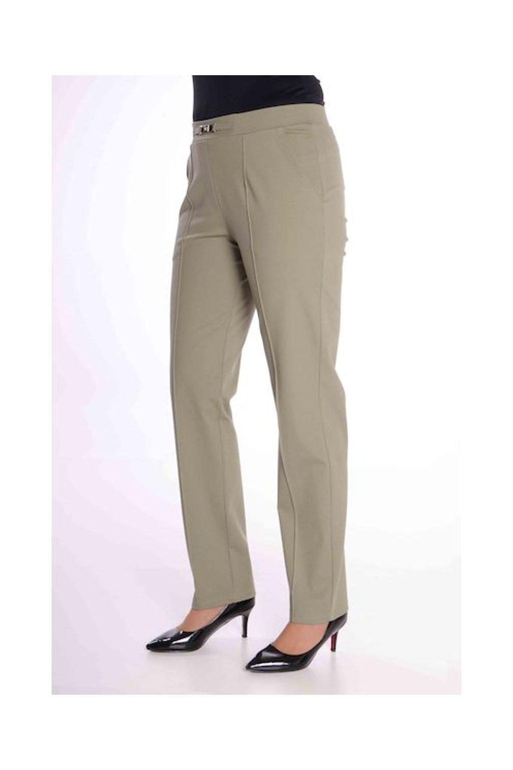 66T Kalhoty Avanti s puky (Velikost 36, Barva Zelená)