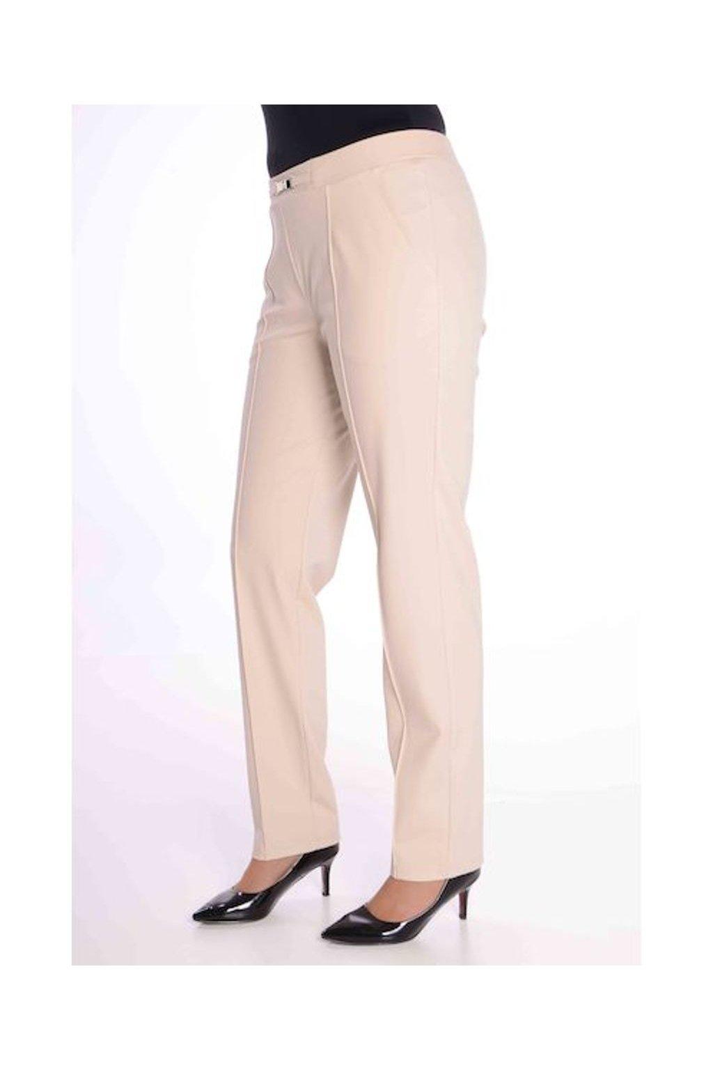 66T Kalhoty Avanti s puky (Velikost 36, Barva Béžová)