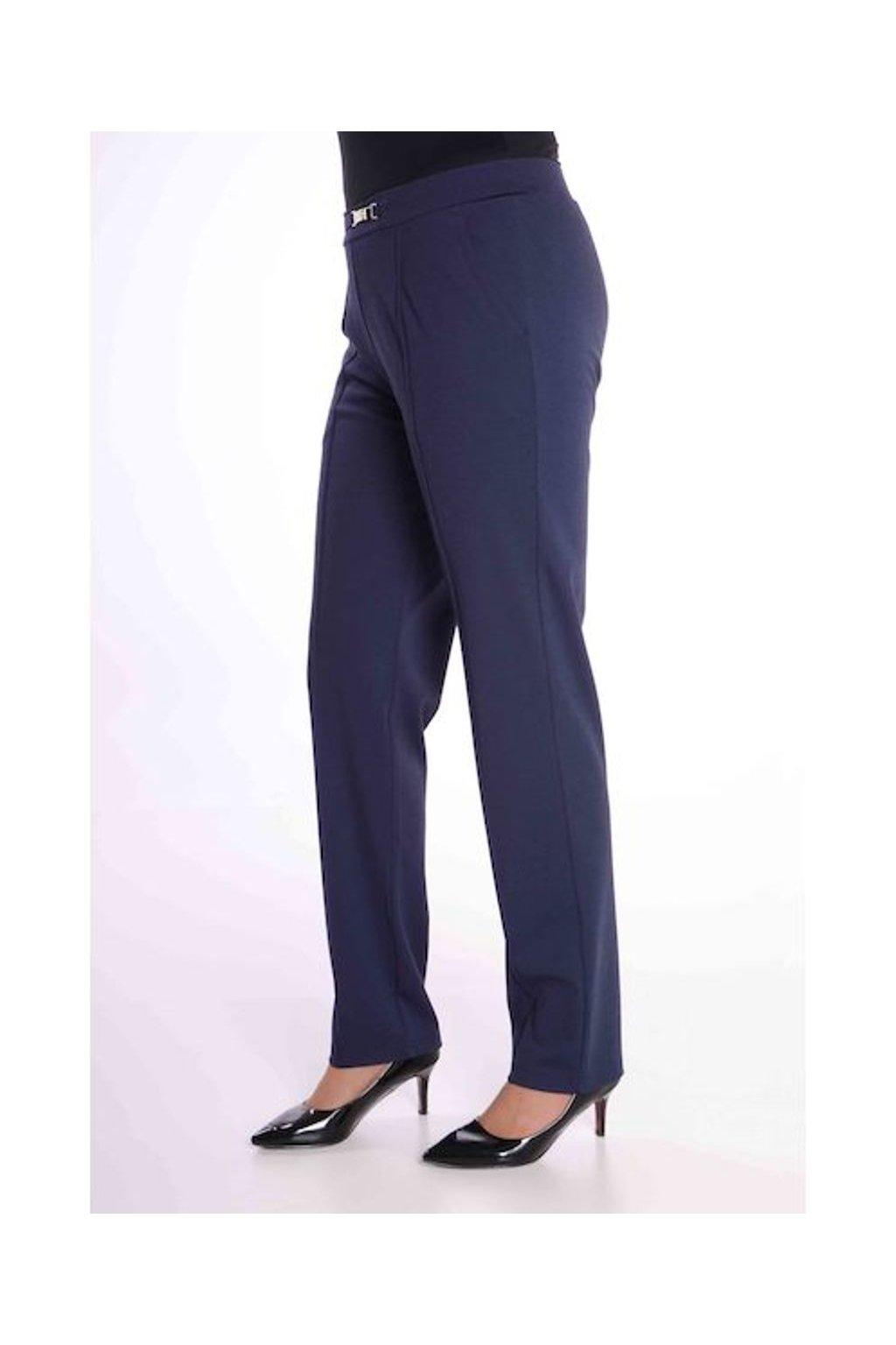 66T Kalhoty Avanti s puky (Velikost 36, Barva Modrá)