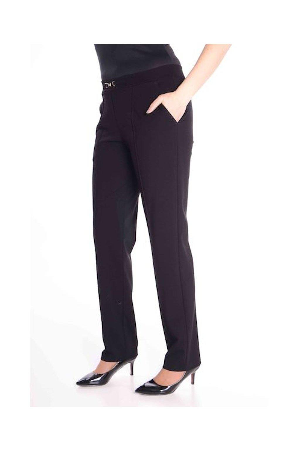 66T Kalhoty Avanti s puky (Velikost 36, Barva Černá)