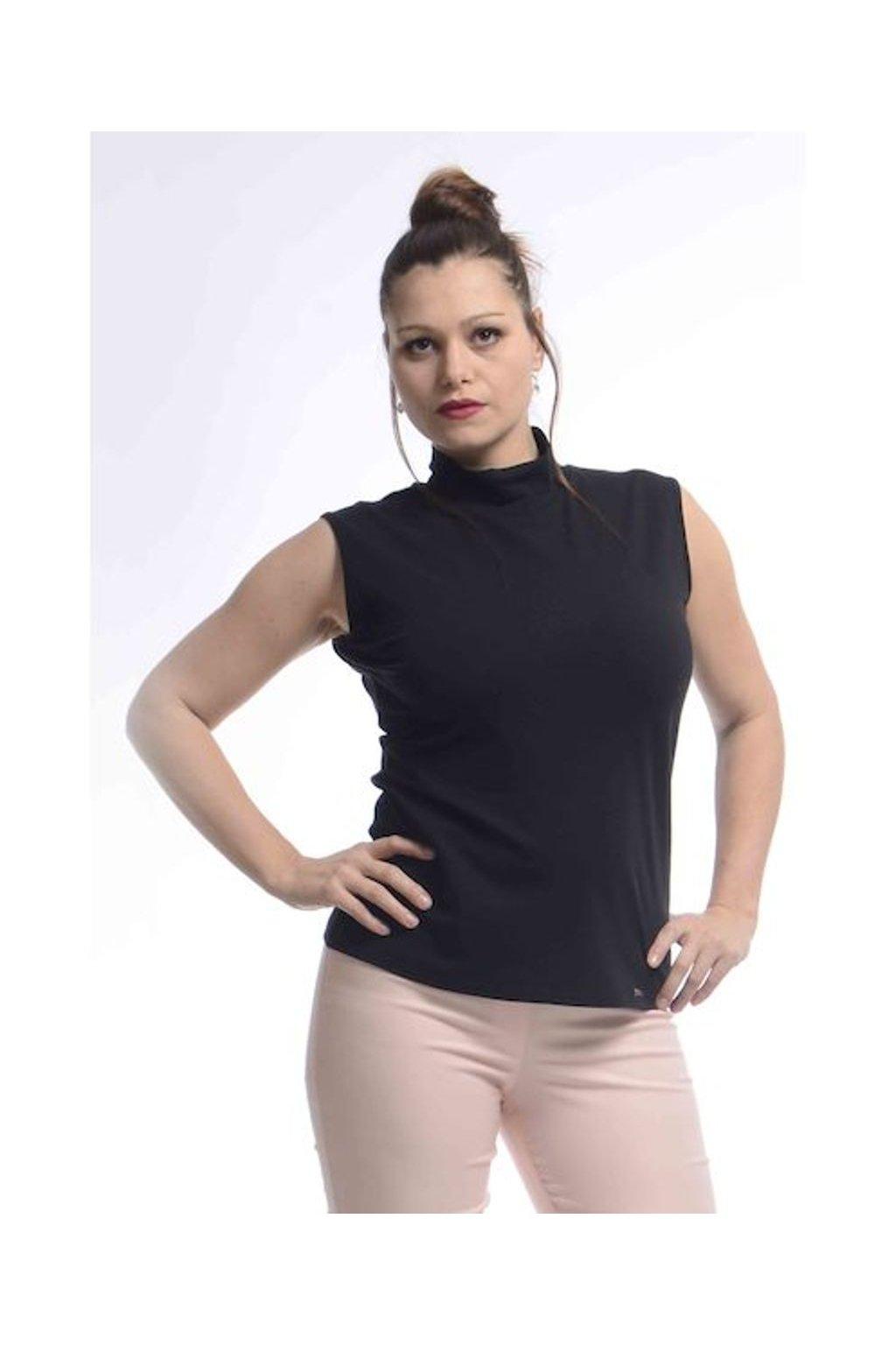 2021 Tričko Vera bez rukávů (Velikost 36, Barva Černá)