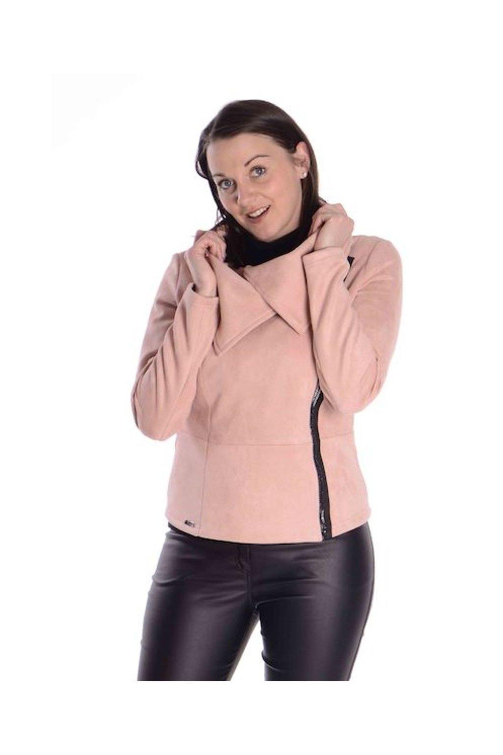 1021 Bunda Lima (Velikost 36, Barva Růžová)