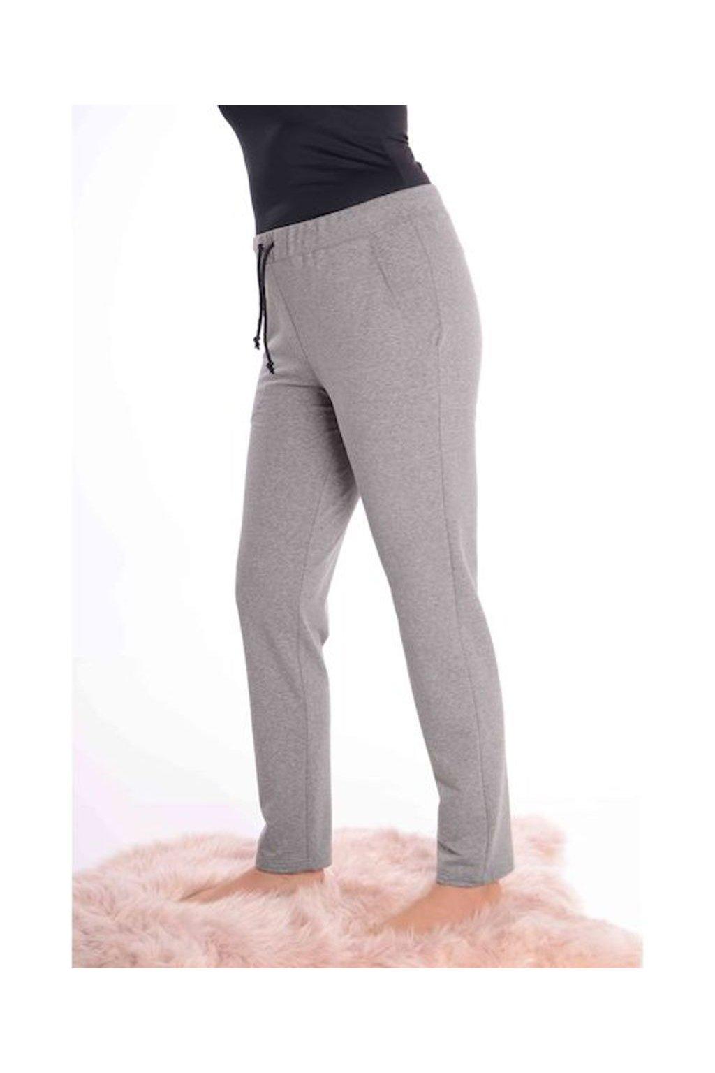 0521 Kalhoty comfort (Velikost 36, Barva Šedá)