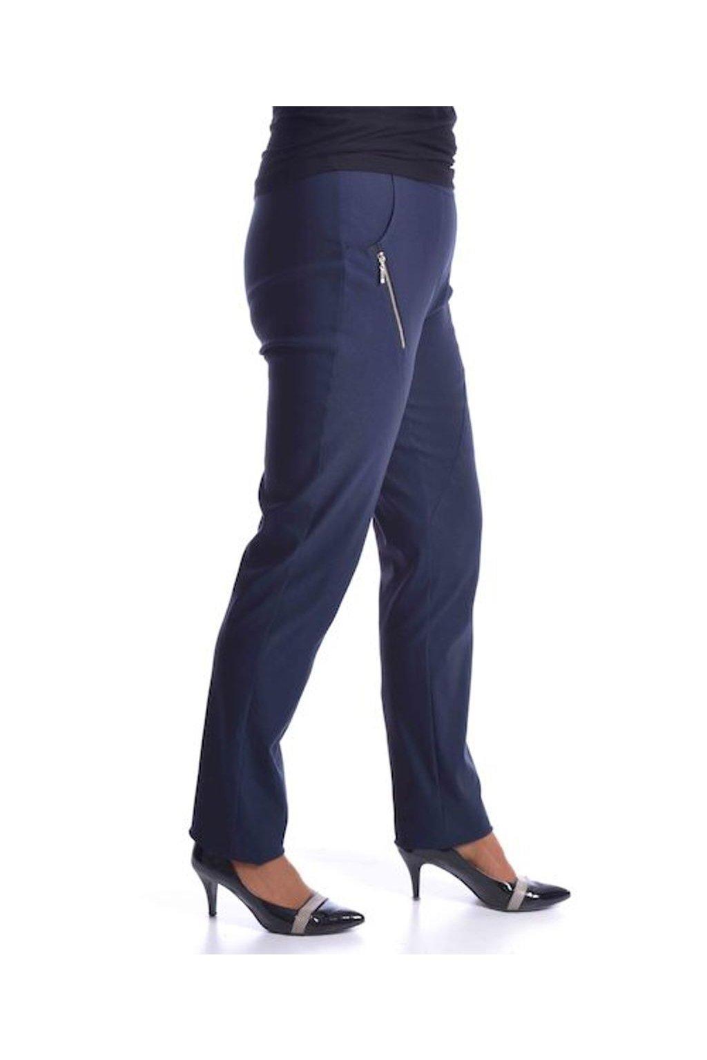 62T Kalhoty Zita (Velikost 38, Barva Modrá)