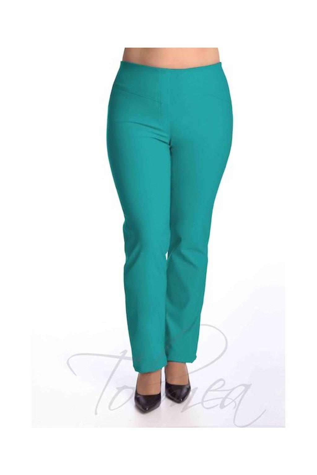 52T Kalhoty elastické dlouhé sedlo (Velikost 38, Barva Černá)