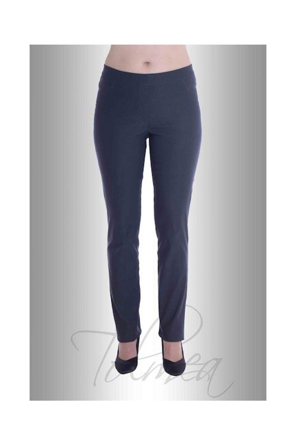 Kalhoty elastické džegíny 51T (Velikost 36, Barva Modrá)