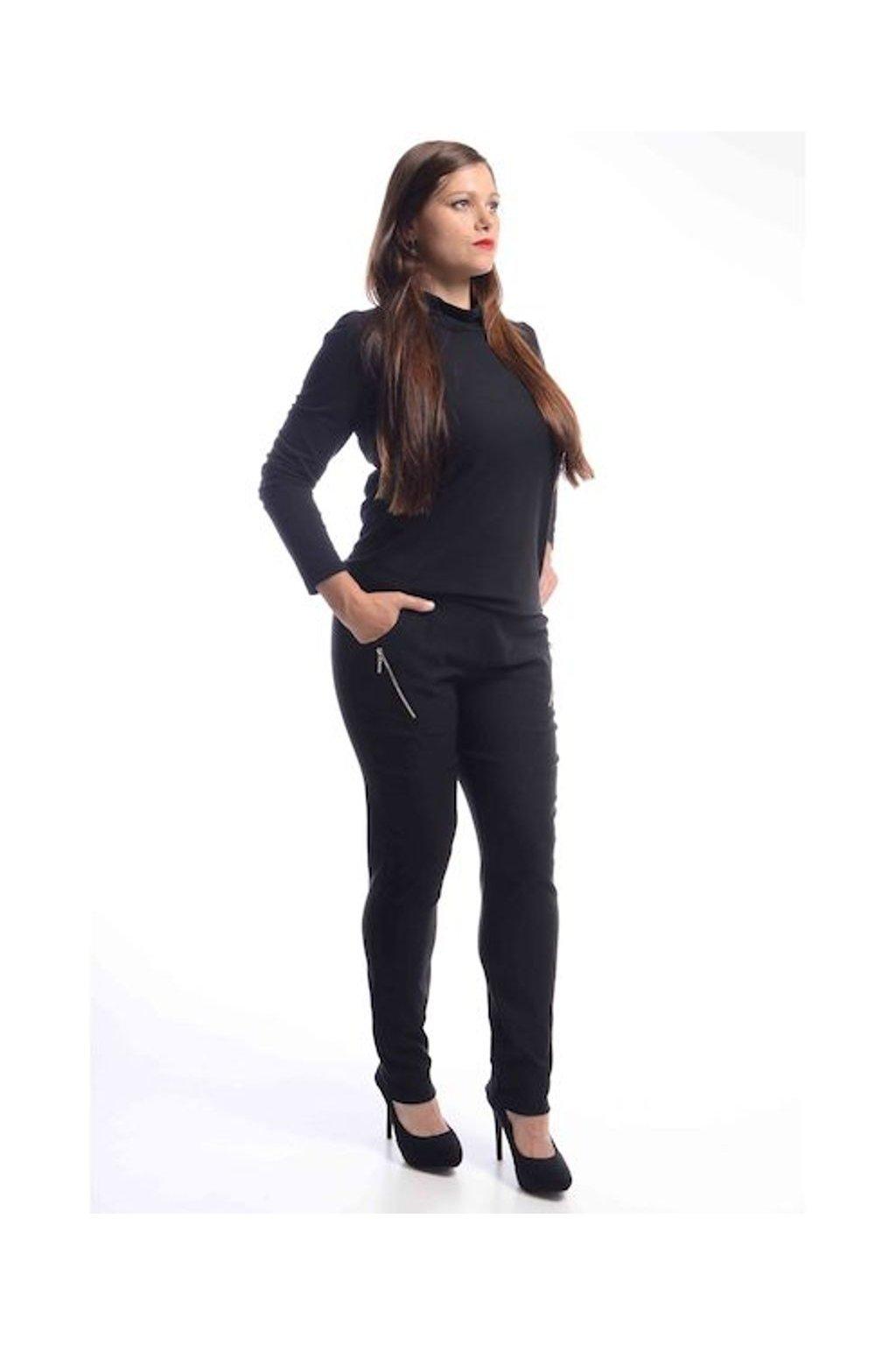 62T Kalhoty Zita (Velikost 36, Barva Černá)