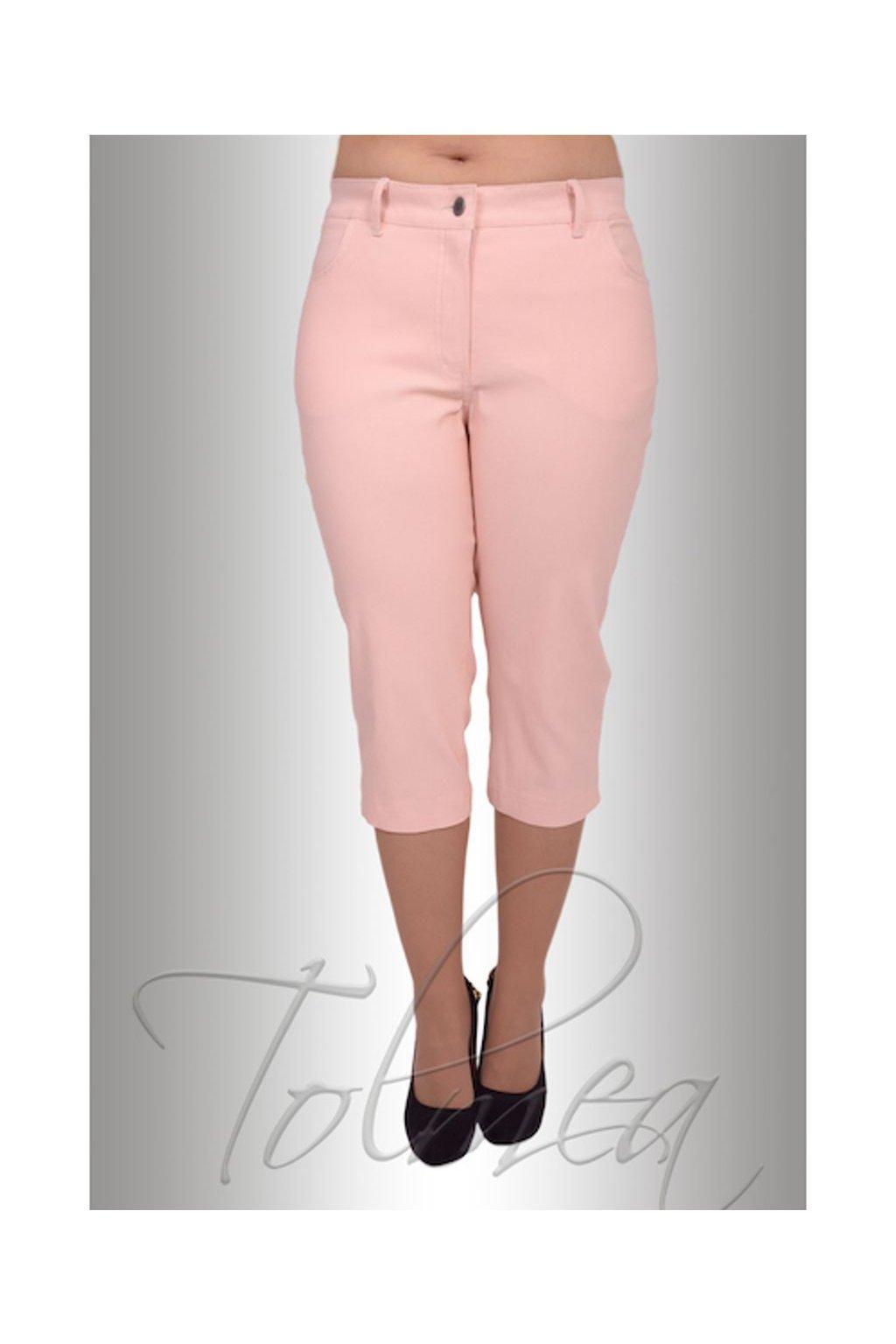 Kalhoty elastické riflové 3/4 44T (Velikost 36, Barva Černá)