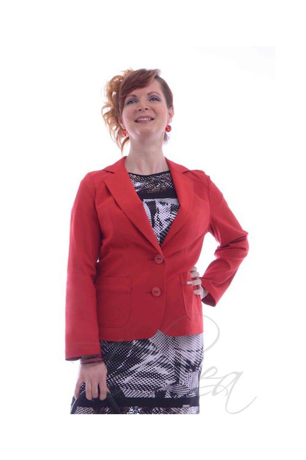 Sako elastické přiléhavé 5518 (Velikost 36, Barva Červená)